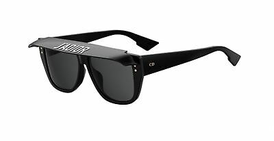 Authentic Christian DIOR CLUB 2 807/IR Black Sunglasses