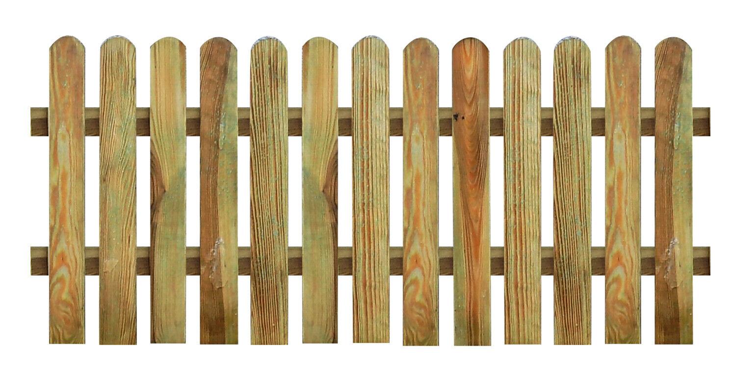 Lattenzaun Kiefer Kdi 180x70 Zaun Holz Holzzaun