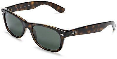 New Ray Ban RB2132 902 Wayfarer Tortoise Brown Frame G15 Lens Sunglasses 52mm
