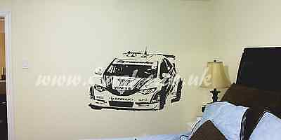 Honda civic BTCC touring car car Wall Art