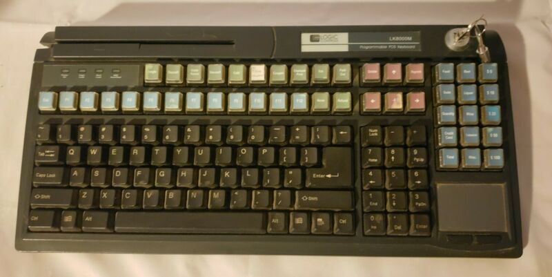 Logic Controls LK8000MU POS Keyboard
