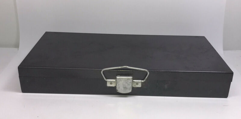Vintage Metal Case 35mm Slide Case Individual Tray Storage Holder Box 150 Slots