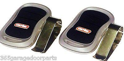 2PACK Genie G3T-BX 3-Button Intellicode II Garage Door Mini Remote 315mhz 390mh