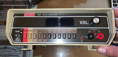 Keithley 169 Multi-meter Parts Only Outside Is Cosmetically Great