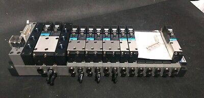 Koganei Pneumatic Fm-solid Manifold X88m Series W11 Solenoid Valves - New