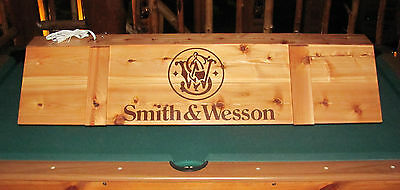 Smith & Wesson Pool Table Poker Billiards Reloading Work Bench Light