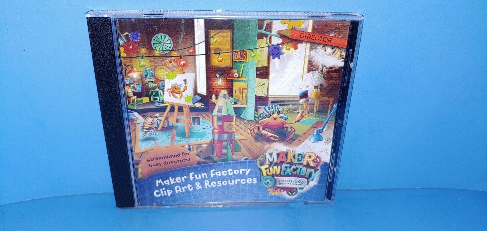 Maker Fun Factory Clip Art Resources CD ROM WINDOWS/MAC 2017 VBS B402 - $149.99