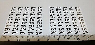 Automatic Products Ap Snack Vending Machine Price Label Stickers - 2.00 - 2.25