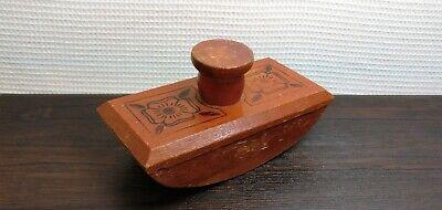 Vintage Wooden Blotter Paperweight Writing Instrument USSR Soviet UK