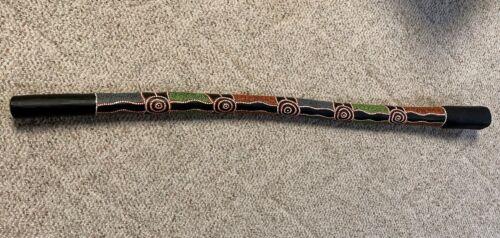 Authentic Aboriginal Didgeridoo Australian Termite-Hollowed~Gorgeous!, Vintage!