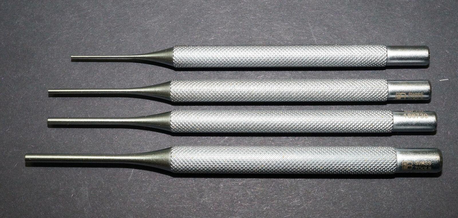 PB SWISS TOOLS 715 kleine Splinttreiber Durchtreiber Splintentreiber 4-tlg. NEU
