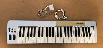 M-Audio Keystation  49E MIDI controller-lightweight MIDI controller 49 keys USB