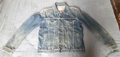Kent and Curwen made in Italy 3 lions denim jacket. Size Medium. Brand new