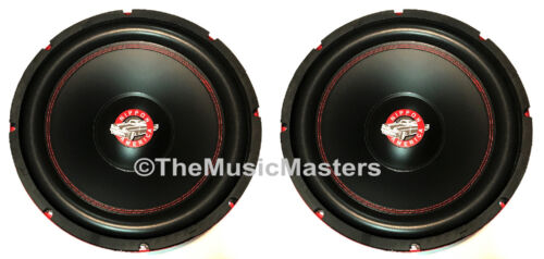 "(2) 12"" inch Home Stereo Sound Studio WOOFER Subwoofer Speaker Bass Driver 8 Ohm"