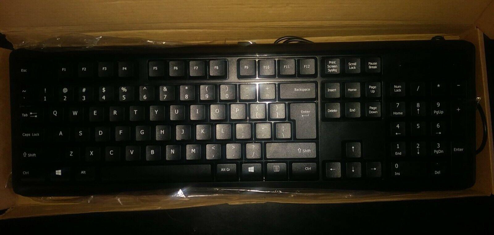 kb us919sb wired usb keyboard and usb