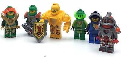 LEGO LOT OF 6 NEXO KNIGHT MINIFIGURES CASTLE FIGS