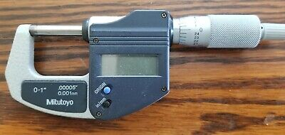 Mitutoyo Electronic Micrometer0-1 Inratchet 293-831