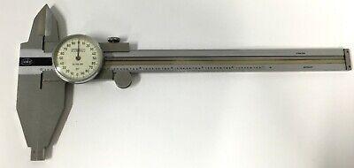 Fowler 52-025-007 Helios Dial Caliper 0-7 Range .001 Graduation