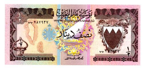 Bahrain … P-7 … 1/2 Dinar … L.1973 ... * UNC *