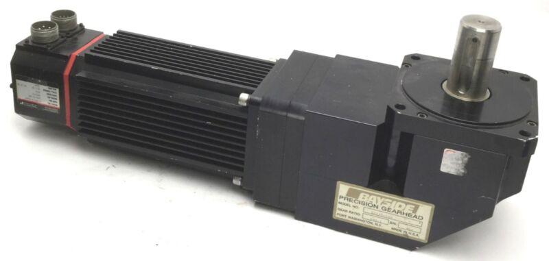 Bayside RA142-100 Precision Gearhead 100:1 Ratio With S-4075-R-H00AA Servo Motor
