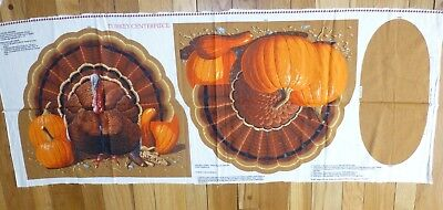 TURKEY CENTERPIECE CLOTH THANKSGIVING SEWING PROJECT 18 X 42
