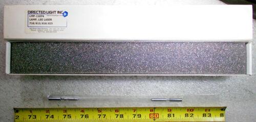 NEW DIRECTED LIGHT LMP-11074 LASER FLASH LAMP, Lee Laser Lamp 718/ 815/ 818/ 825