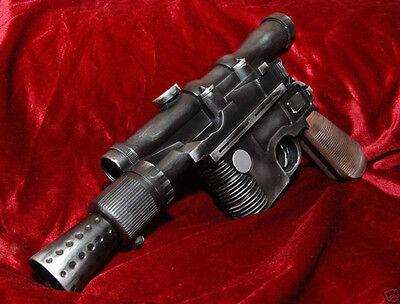 STAR WARS ANH Solo DL44 Blaster Officially Licensed Modded Movie Prop Replica