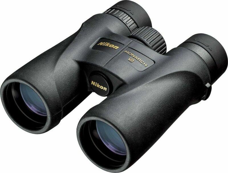Nikon Monarch 5 8x42 Binoculars (7576) with Neck Strap Waterproof & Fogproof