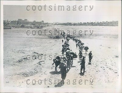 1935 Italian Soldiers Enter Makale Italo Ethiopia War Press Photo
