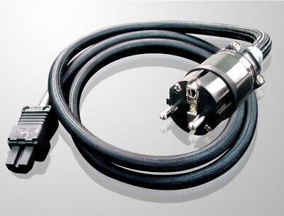Furutech Absolute Power 15 Plus E Netzkabel Stromkabel Rhodium Stecker 1,5m