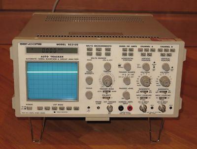 Sencore Sc3100 100mhz Oscilloscope Automatic Waveform Circuit Analyzer