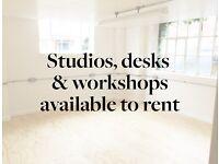 The Factory Studios - studios, desks & workshops