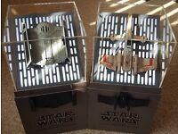 2 x Propel Star Wars Battling Drones: T-65 X-WING x1 and TIE ADVANCED x1