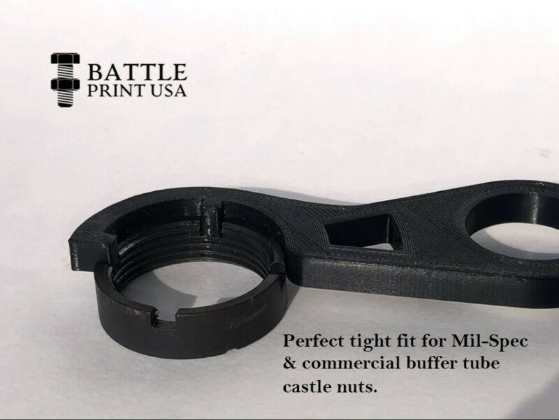 Castle Nut Removal Wrench
