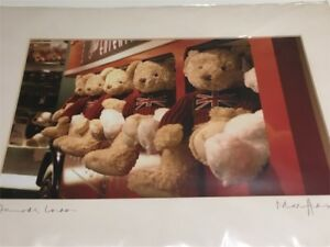 Harrod's Bears in Bus mounted image