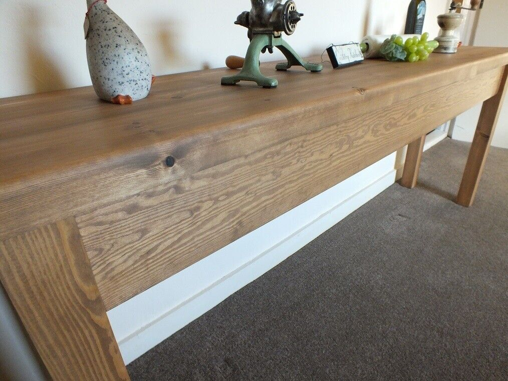 Sidetable 3 Meter.2 Metre Long Rustic Console Table Hall Sofa Side Table In Brigg Lincolnshire Gumtree