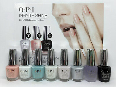 OPI- Infinite Shine- Air Dry Nail Lacquer 0.5oz- Soft shades- Pick Any Color 0.5 Ounce Air