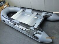 New inflatable boat dinghy tender rib 3.8 aluminium deck v keel fishing dive like honwave