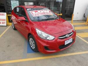 2017 Hyundai Accent ACTIVE Automatic Hatchback Laverton North Wyndham Area Preview