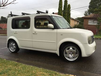 7 Seater 2004 Nissan Cube Auto LONG REGO Low Ks Sensor Start A1.. Meadowbank Ryde Area Preview