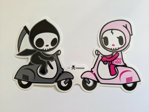 tokidoki sticker - Adios and Ciao Ciao