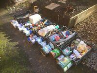 DIY supplies, job lot. paint, lights, various DIY bits, car boot lot, Job LOT 5