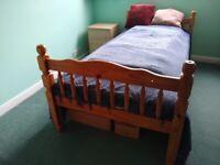 3 ft Pine bunk beds