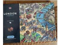 Jigsaw Puzzle - 1000 pieces. London