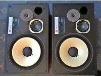 JBL L 100 speakers
