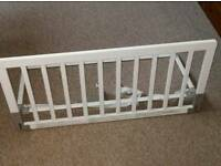 Baby Dan White Wooden Bed Guard
