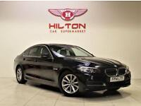 BMW 5 SERIES 2.0 520D SE 4d AUTO 181 BHP (black) 2014