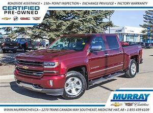 2016 Chevrolet Silverado 1500 *4WD *Leather *Bluetooth *Sirius X