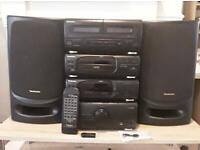 Technics CH404 full system with SPEAKERS and Bluetooth adapter