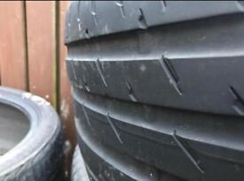 245/40/17 CONTINENTAL SP CONTACT 3 WITH 4MM TREAD ONLY £30!!